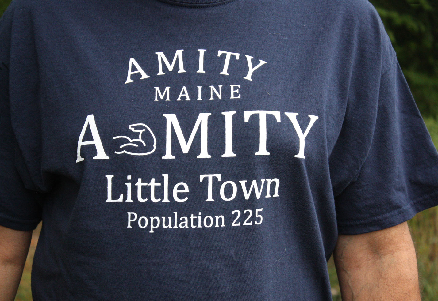 Amity Maine A-Mity Little Town T-Shirt